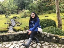 I headed to the Seattle Japanese Garden, it was very tranquil and free!